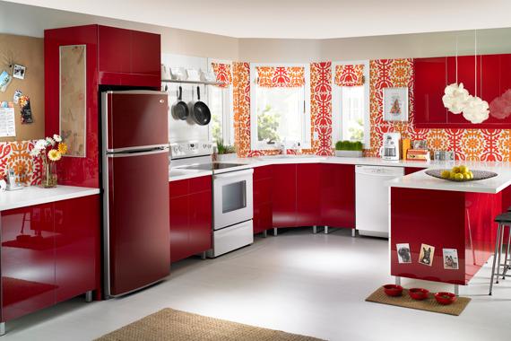 Холодильник в современном интерьере
