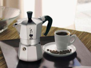 Все о гейзерных кофеварках