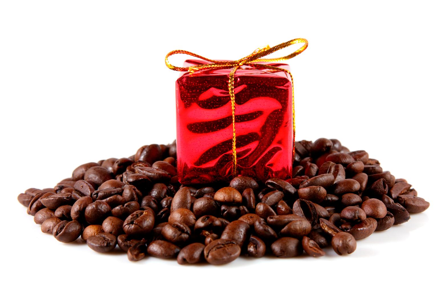 Дорогой кофе в подарок